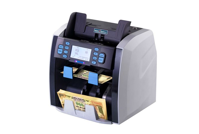 maxsell-2pocket-note-sorting-machine